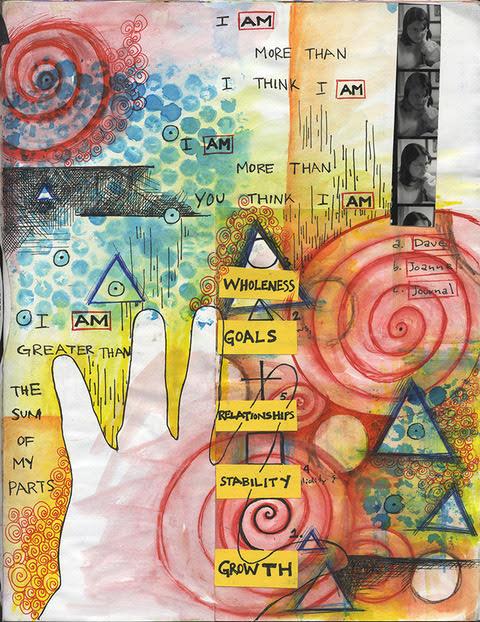 mindful visual journaling